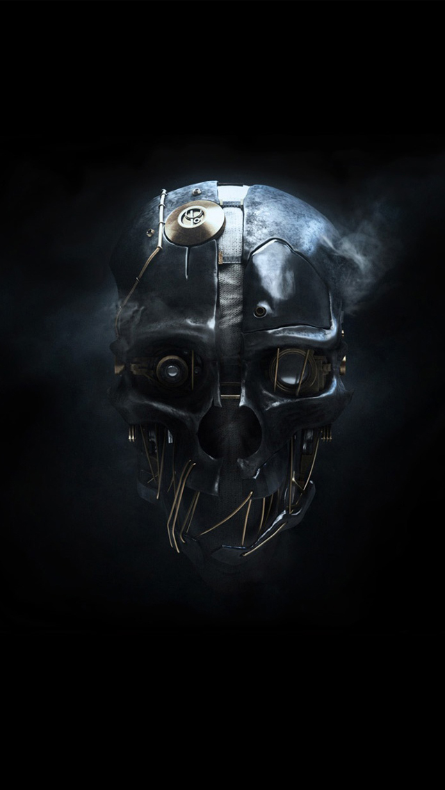 dishonored mask iPhone wallpaper