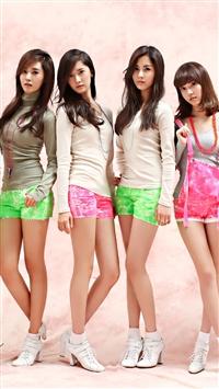 Pink Girls Generation iPhone 5s wallpaper