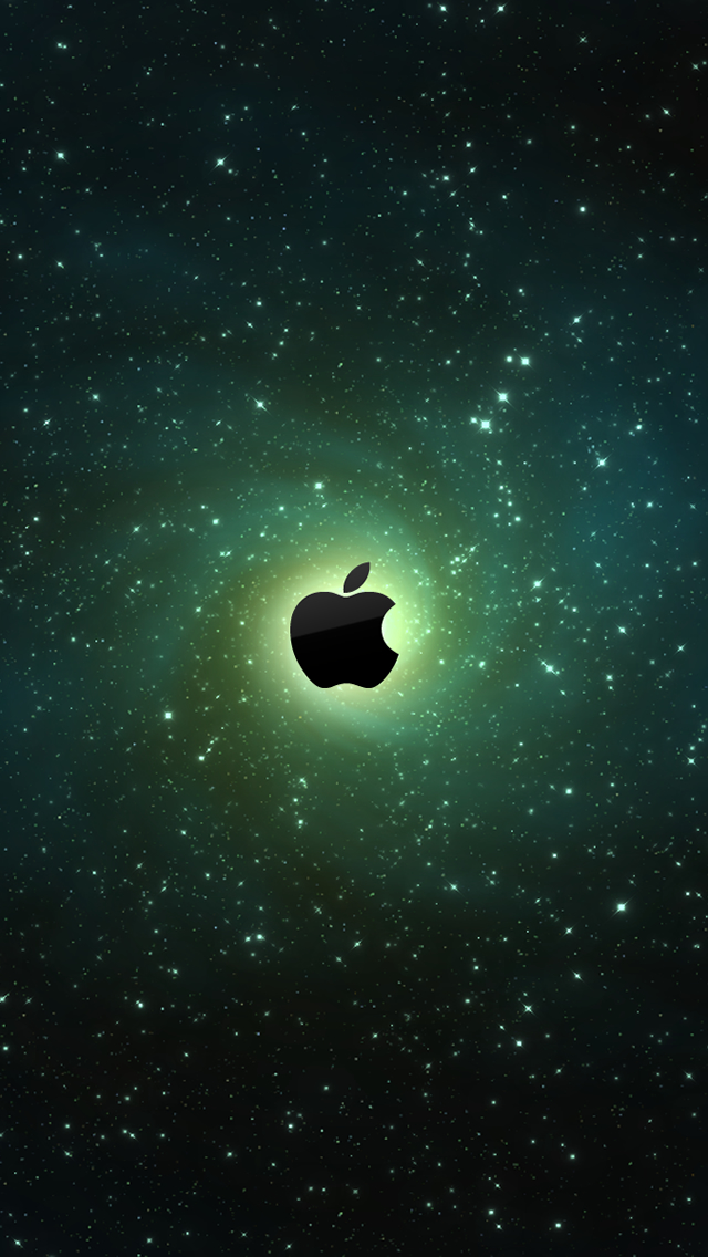 Galaxy Apple Logo Iphone Wallpapers Free Download