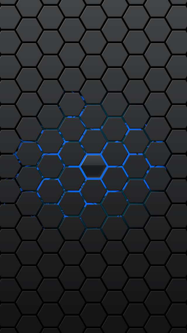 Honeycomb Pattern iPhone wallpaper