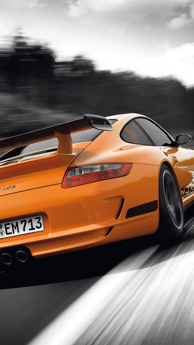 Porsche 911 GT3 iPhone wallpaper