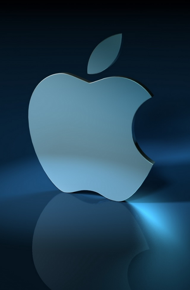 Light Blue Apple Iphone Wallpapers Free Download