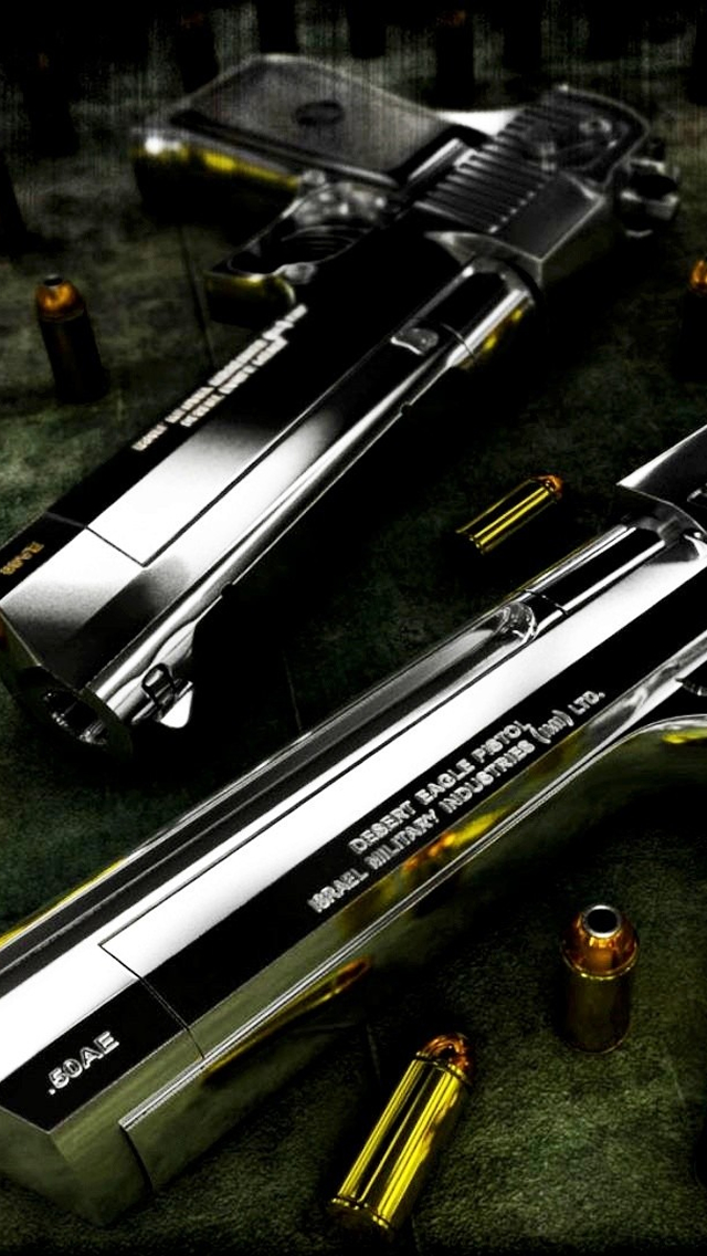 Gun Desert Eagle iPhone wallpaper