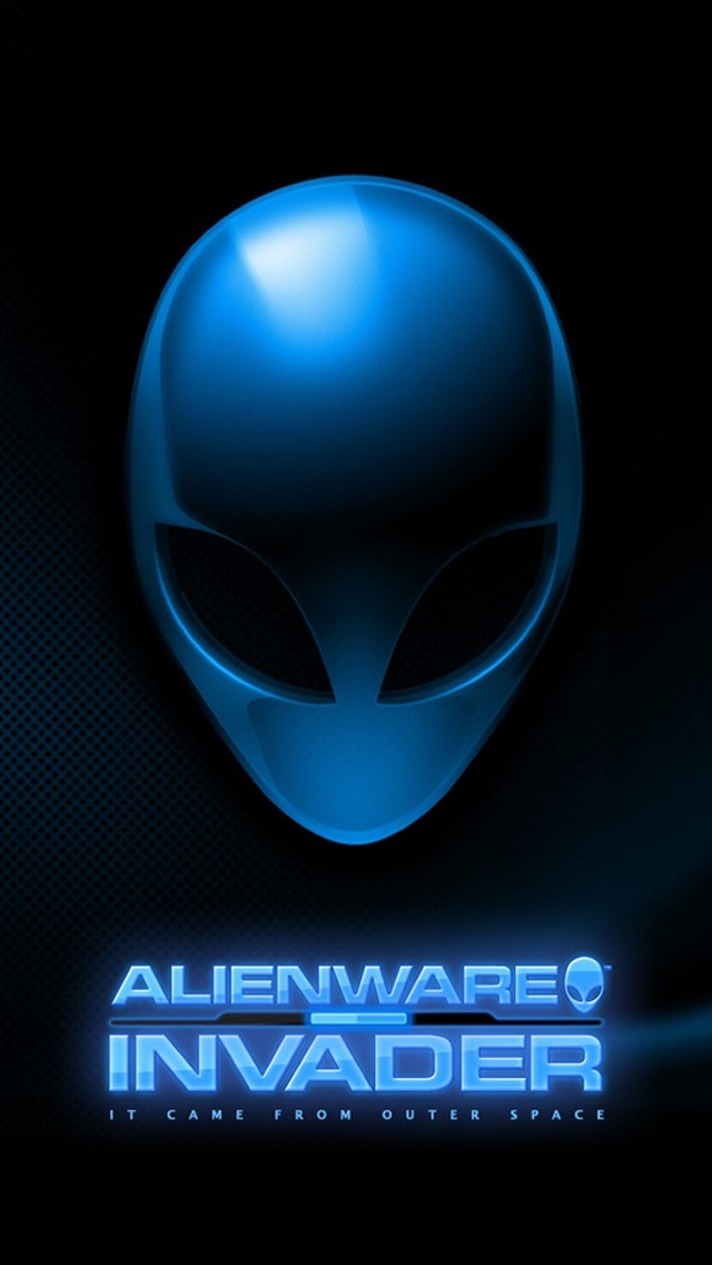 Alienware iPhone wallpaper