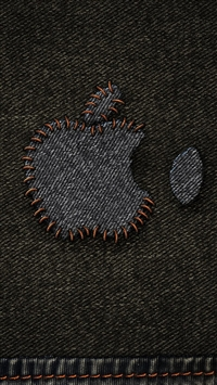 Jeans Apple Logo iPhone 5s wallpaper