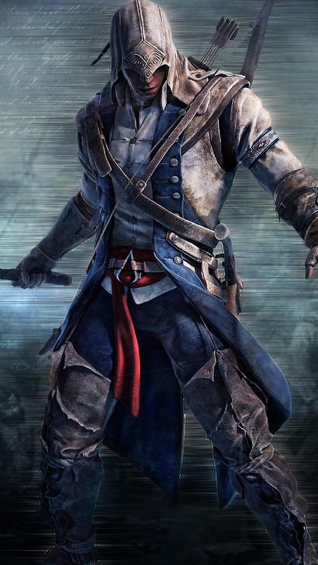 Assassins Creed III iPhone wallpaper