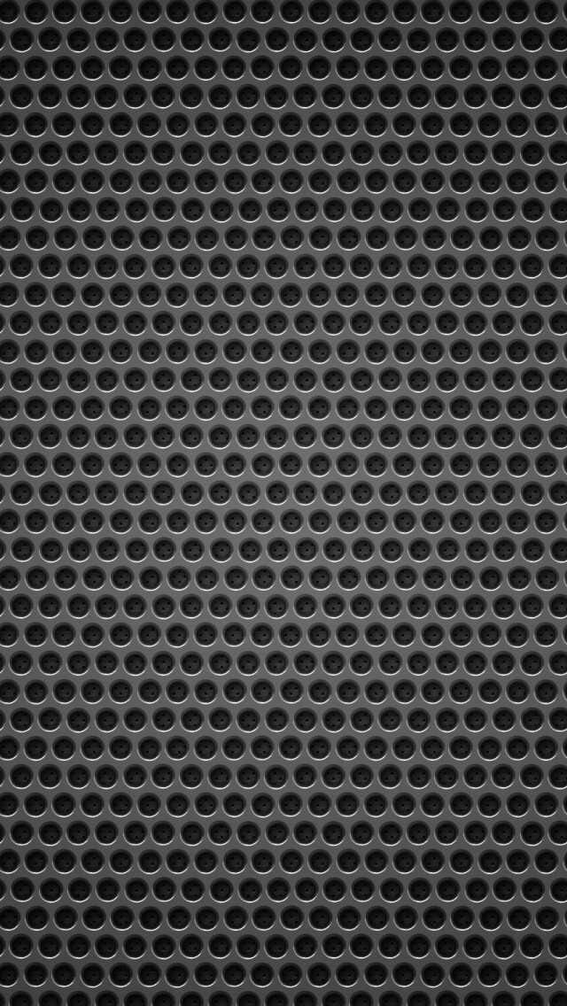 Black Background Metal Hole Iphone Wallpapers Free Download