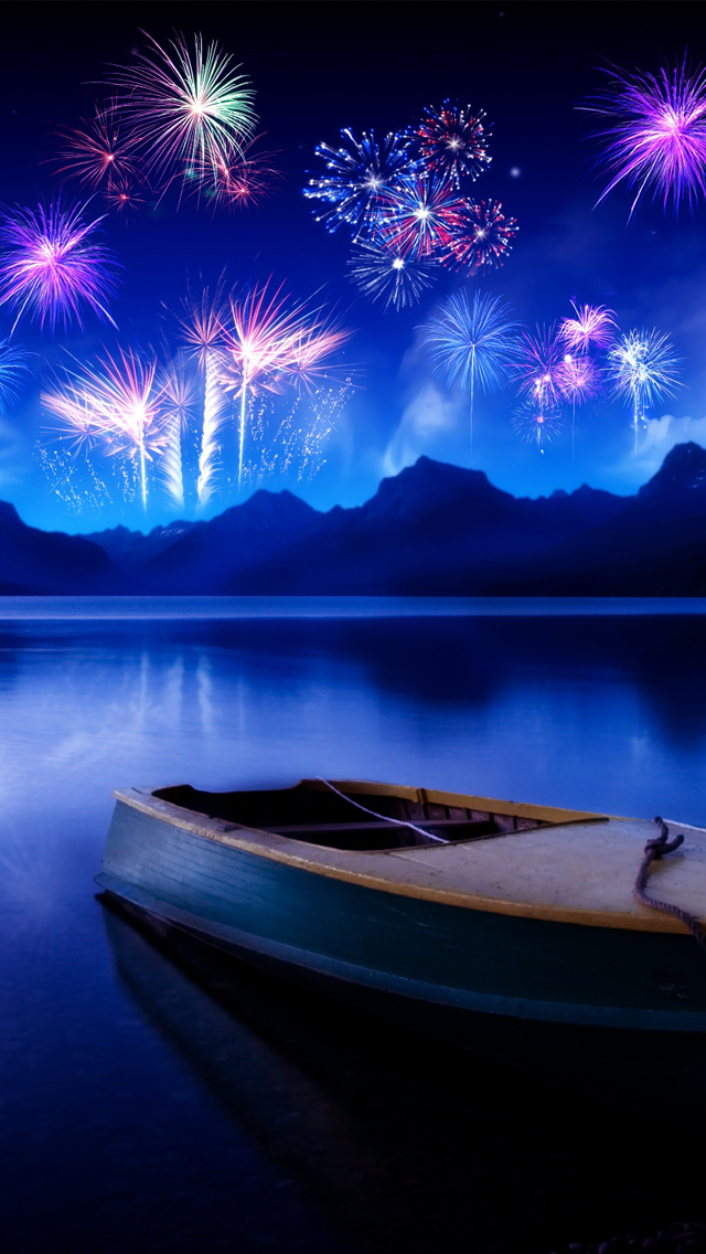 Celebrate new years eve iPhone wallpaper