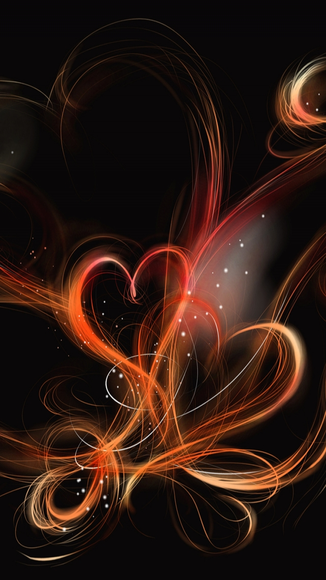 Heart Designs iPhone wallpaper