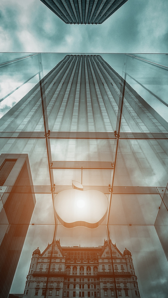 The Big Apple New York iPhone wallpaper