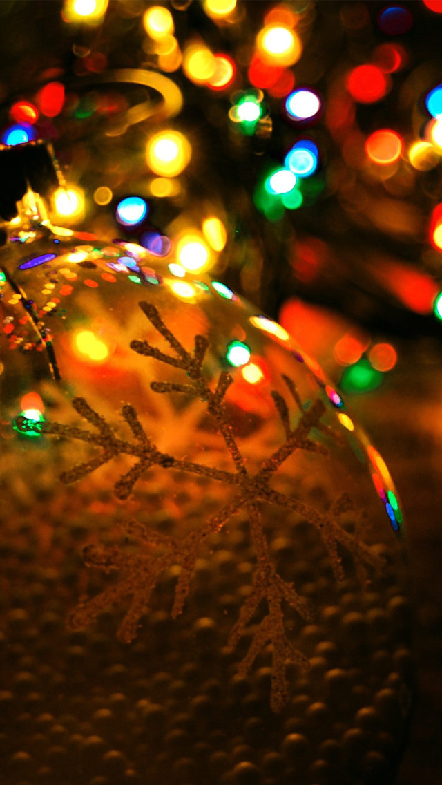 Christmas Lights Iphone Wallpapers Free Download