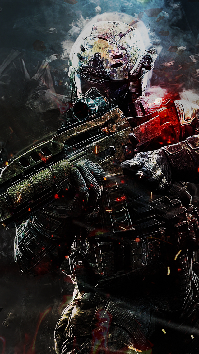 Call of Duty iPhone wallpaper