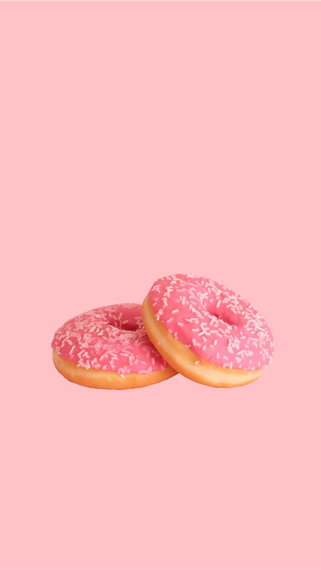donut iPhone wallpaper