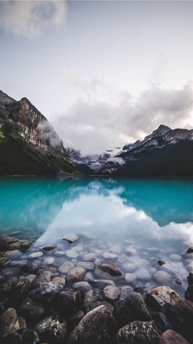 Banff  Canada iPhone wallpaper