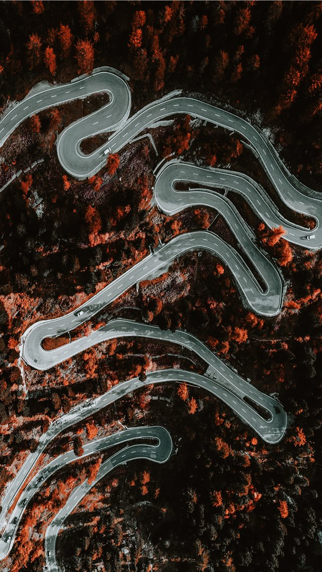 Maloja Pass iPhone wallpaper