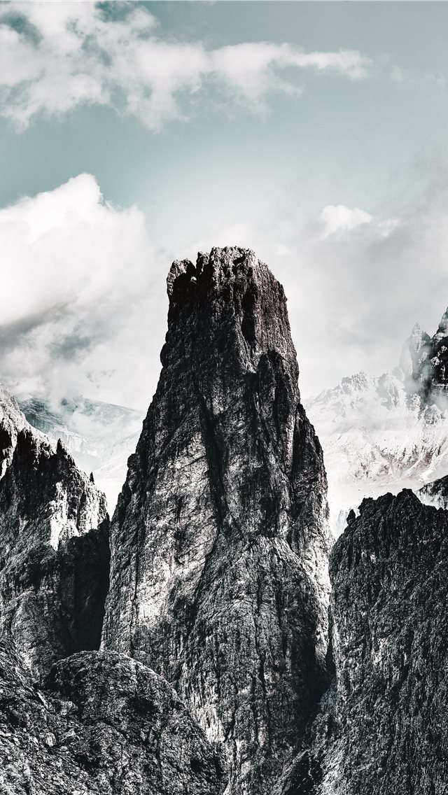 Dolomites  Toblach  Italy iPhone wallpaper