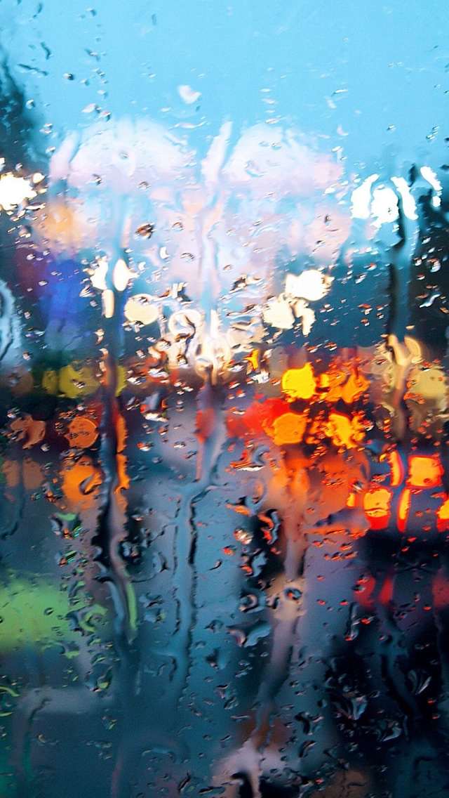 Rainy Weather iPhone wallpaper