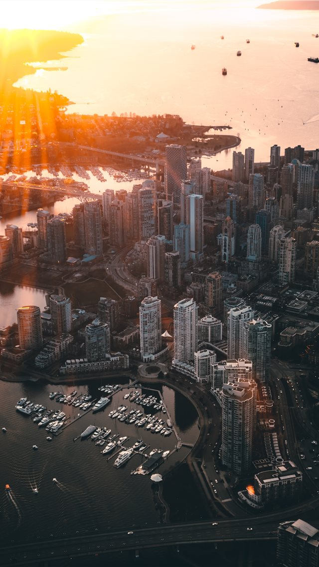 Vancouver  Canada iPhone wallpaper
