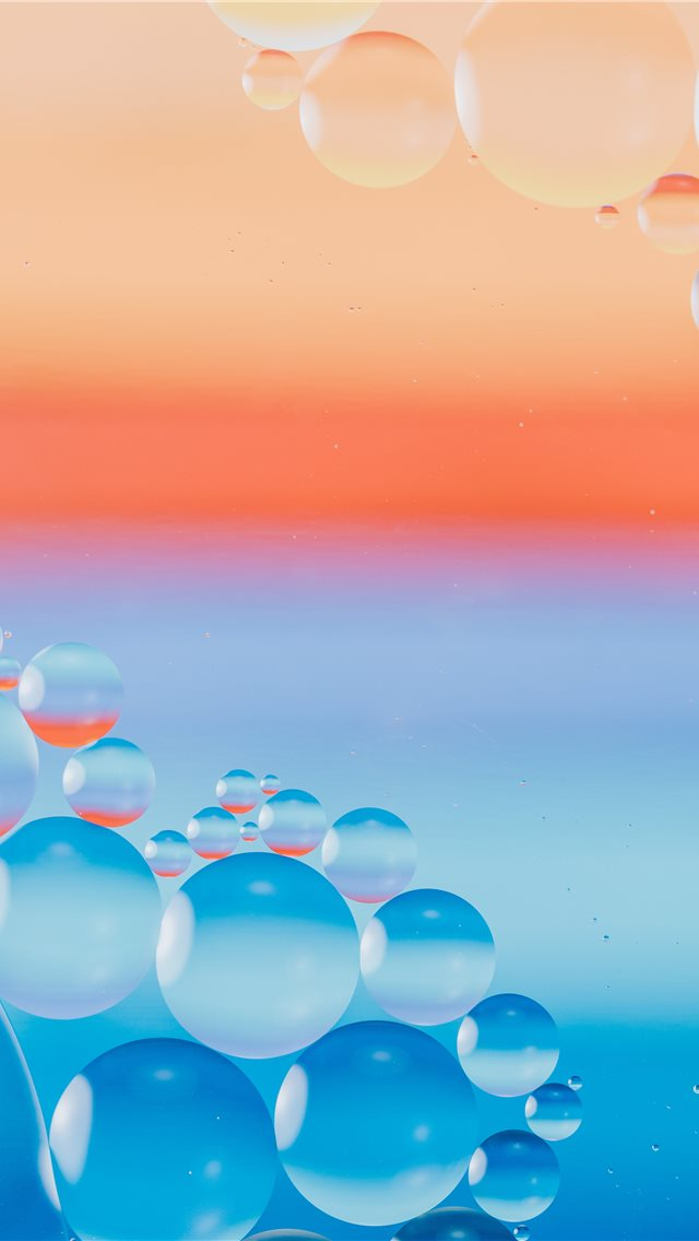 I put some dry pastels below the baking bowl to ge... iPhone wallpaper