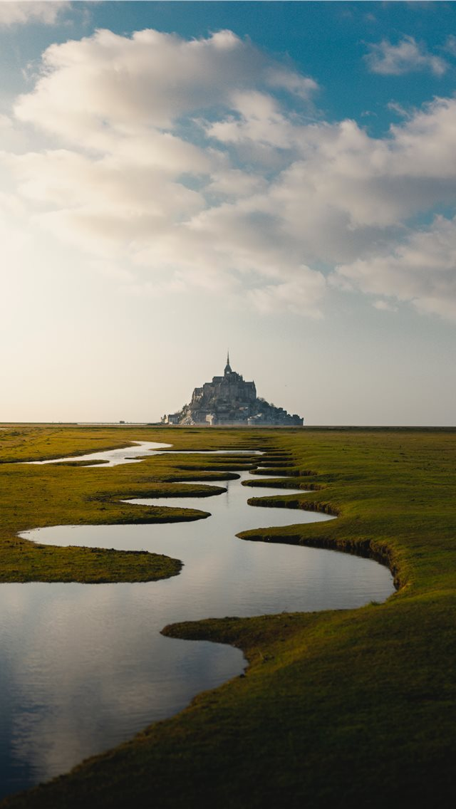 Mont Saint Michel France Iphone Wallpapers Free Download