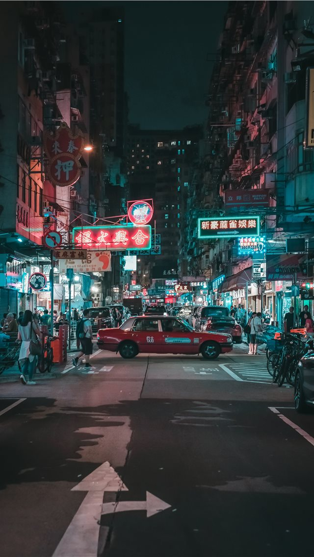 Yau Ma Tei  Kowloon  Hong Kong iPhone wallpaper