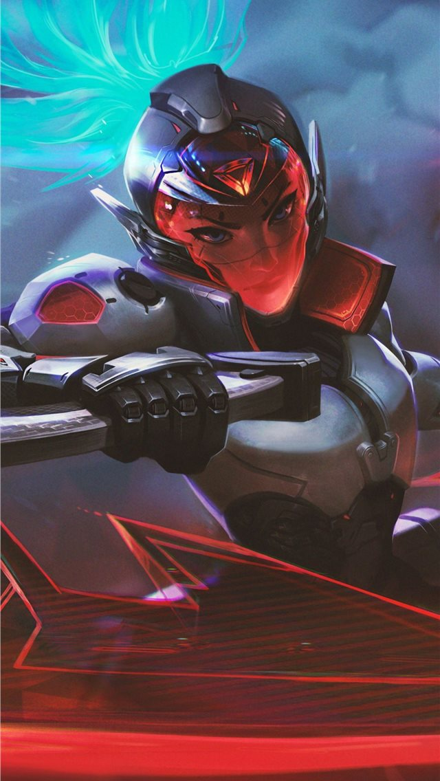 akali league of legends game 4k iPhone wallpaper