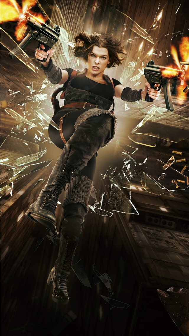 resident evil afterlife 4k iPhone wallpaper
