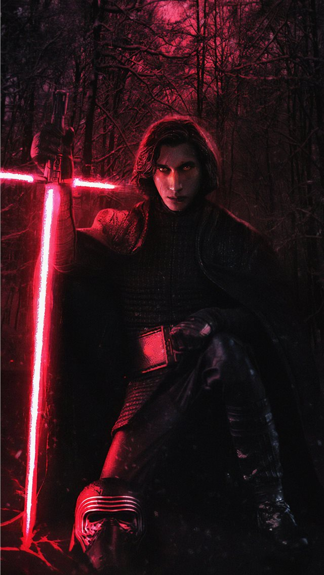kylo ren 4k new iPhone wallpaper
