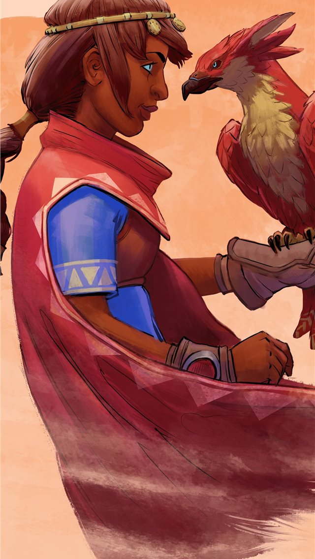falcon age 8k iPhone wallpaper