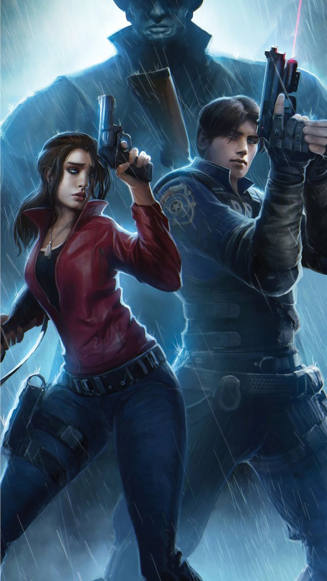 resident evil claire redfield chris redfield 4k ar... iPhone wallpaper