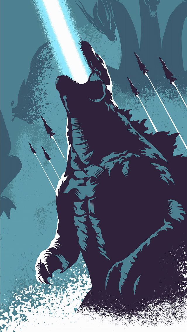 godzilla 4k 2019 iPhone wallpaper