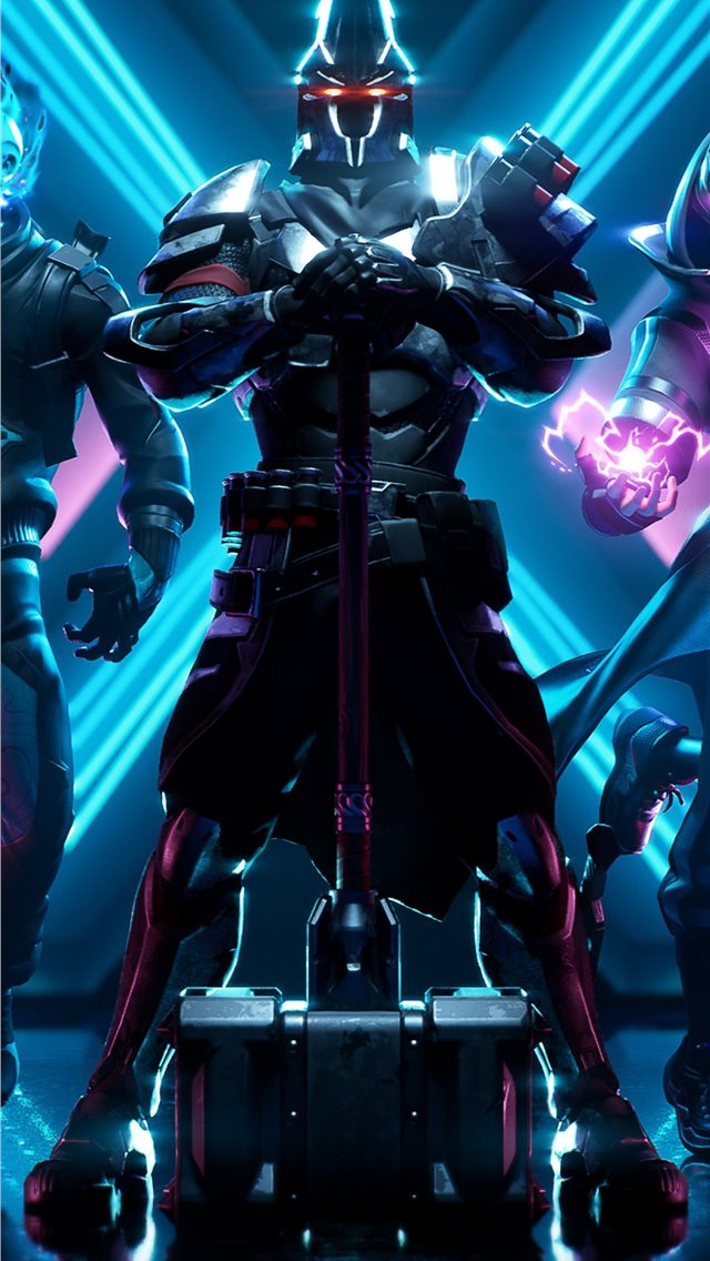 fortnite season x iPhone wallpaper