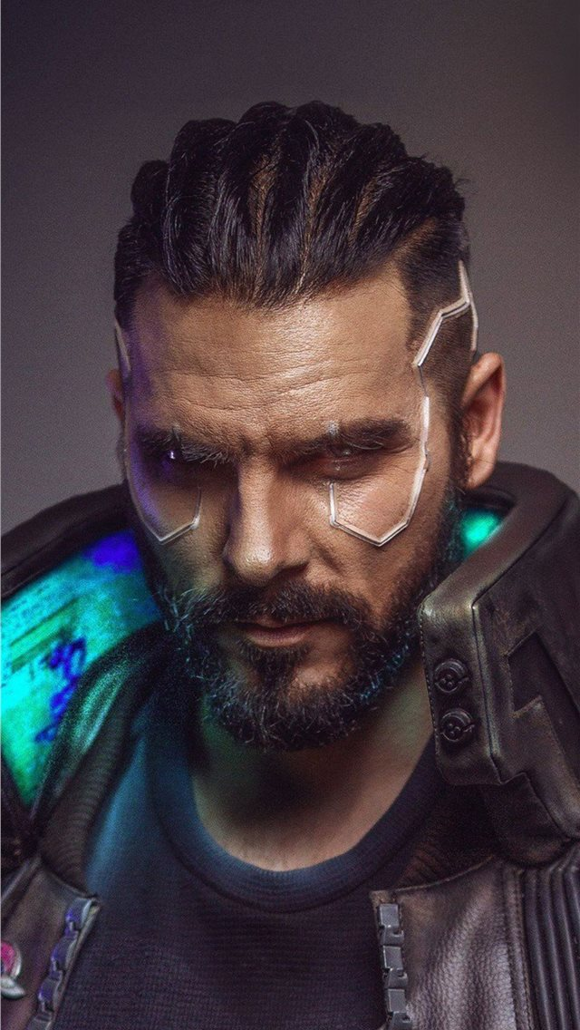 cyberpunk 2077 cosplay new iPhone wallpaper