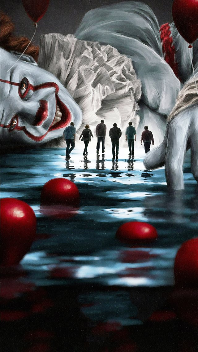 it movie 2019 4k iPhone wallpaper