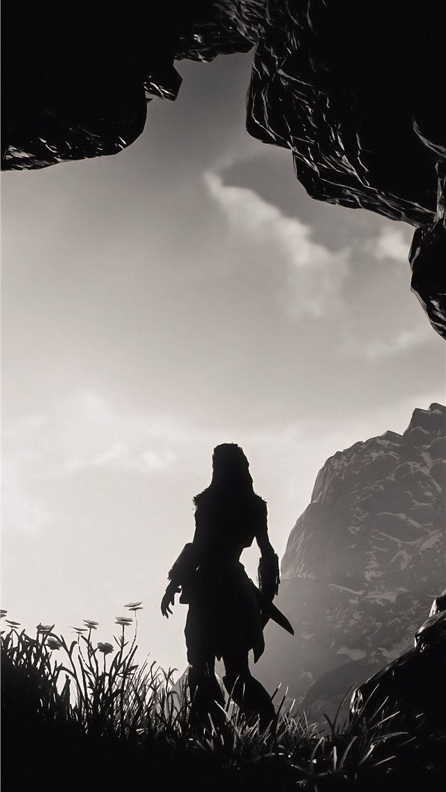 a new day has come aloy horizon zero dawn iPhone wallpaper
