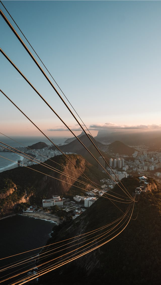 Rio sunsets are unmatched for me  iPhone wallpaper