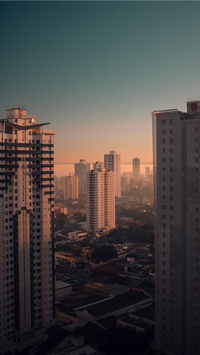 View from a window in my apartment in Goiânia  GO  iPhone wallpaper