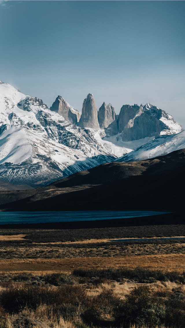 Torres del Paine National Park  Puerto Natales and... iPhone wallpaper