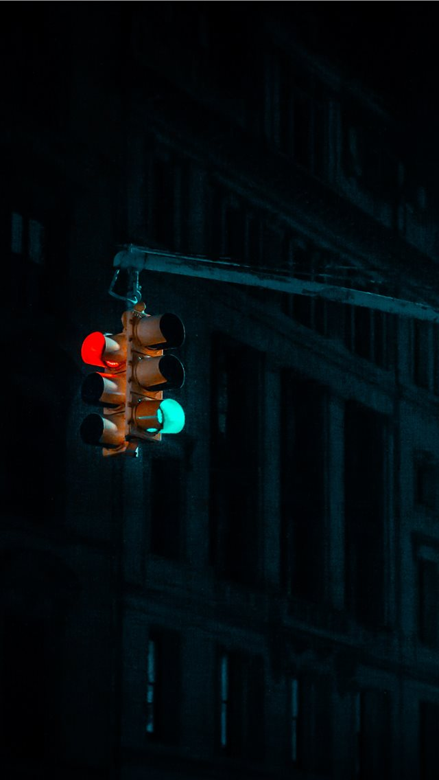 NYC traffic lights      davi... iPhone wallpaper