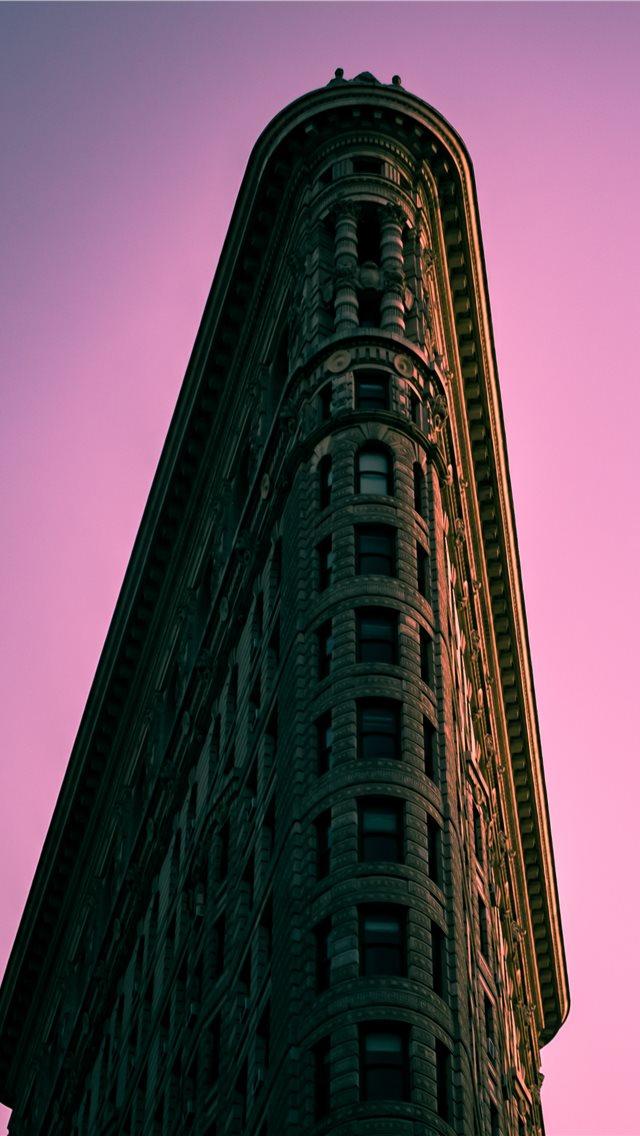 Flatiron sunset      david w... iPhone wallpaper