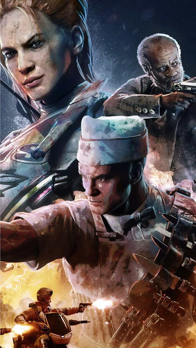 call of duty zombies poster iPhone wallpaper