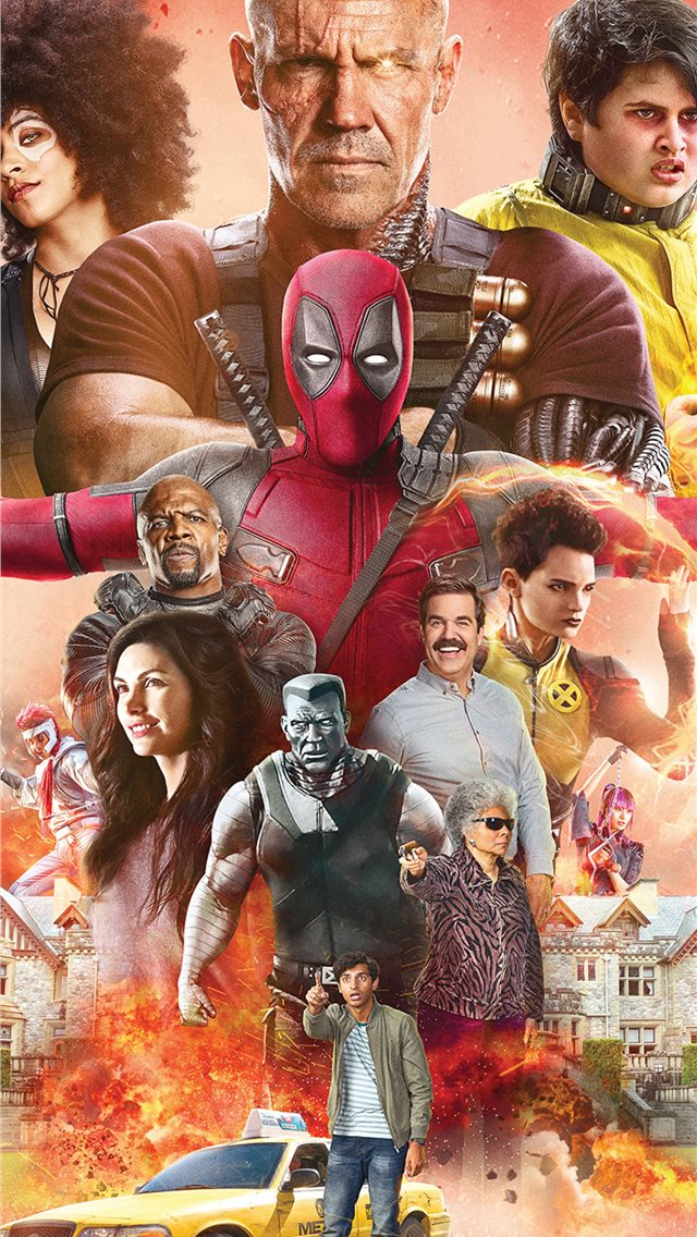 deadpool2 iPhone wallpaper