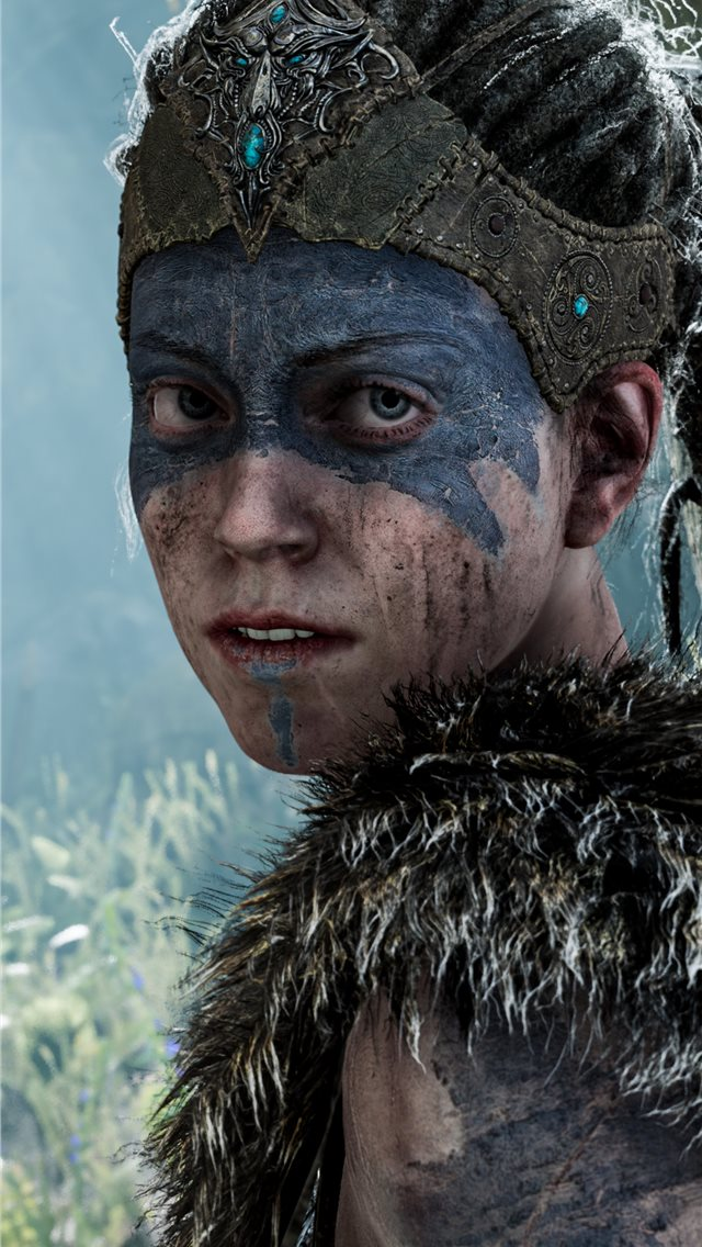 hellblade senuas sacrifice game 4k iPhone wallpaper