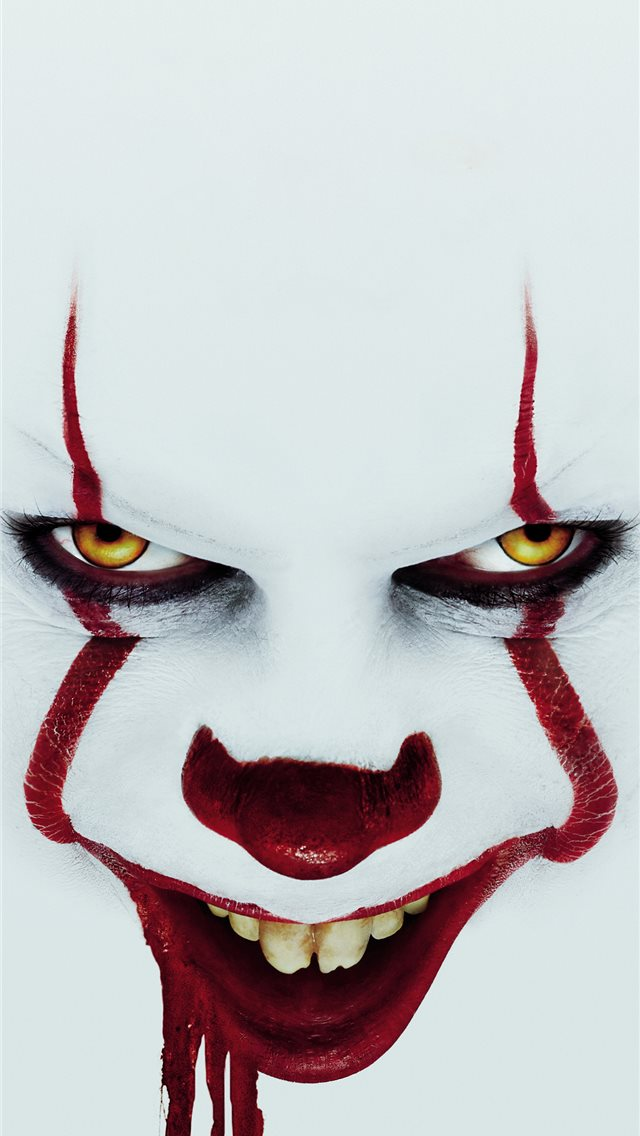 it chapter two 2019 blood drop 5k iPhone wallpaper