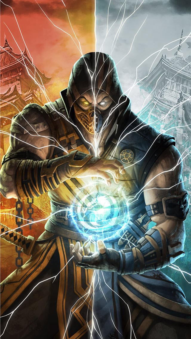 2019 mortal kombat 11 iPhone wallpaper