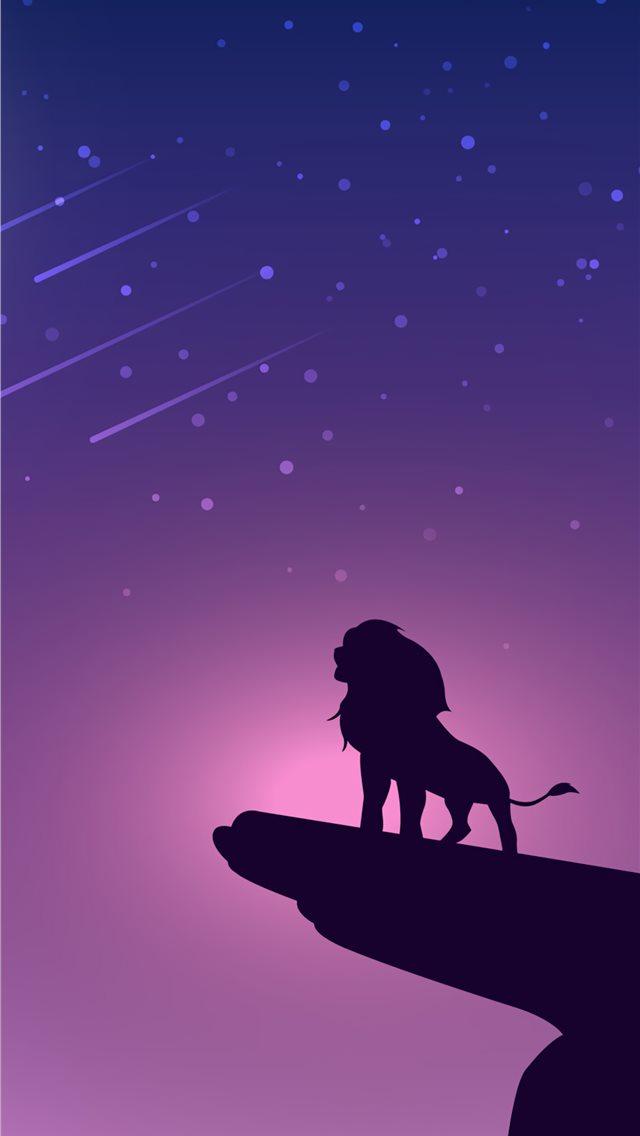 the simba iPhone wallpaper