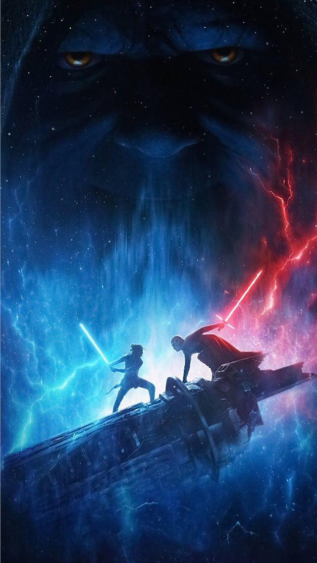 star wars the rise of skywalker 2019 4k iPhone wallpaper
