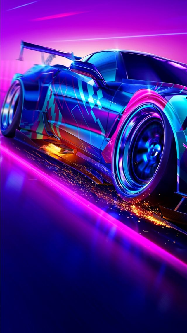 need for speed heat 2019 4k iPhone wallpaper