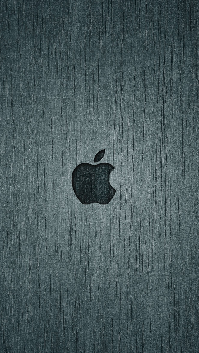 Dark Apple Wood iPhone wallpaper