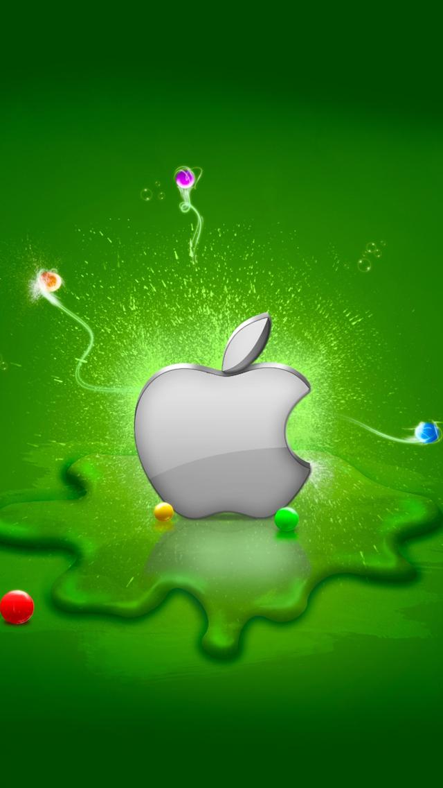 Apple Logo iphone wallpaper ilikewallpaper com